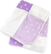 Just Born Plush Patchwork Blanket