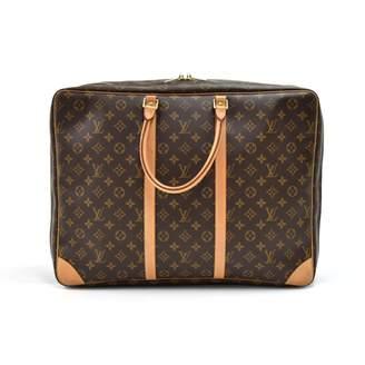 Louis Vuitton Sirius Brown Cloth Travel bags
