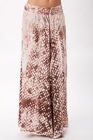 Blue Life Majestic High Waist Tie Dye Maxi Skirt in Sahara