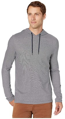 Michael Kors Birdseye Hoodie (Midnight) Men's Sweatshirt