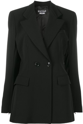Boutique Moschino Double-Breasted Blazer