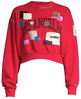 Riley West Coast Flea Patch Crewneck Sweater