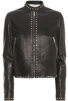 Valentino Rockstud Untitled Leather Jacket