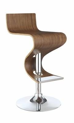 Wrought StudioTM Hunsberger Adjustable Height Swivel Bar Stool Wrought Studio