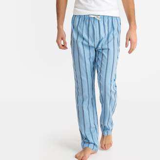 La Redoute Collections Striped Pyjama Bottoms with Elasticated Waist