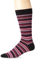 K. Bell Socks Men's Stripe Effect Crew