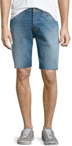 Hudson Hess Straight-Leg Cutoff Denim Shorts, Light Blue
