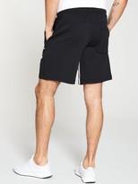 adidas Inside Leg 3 Stripe Short - Black
