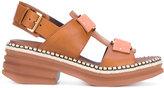 Vic Matié 'Belize' slingback sandals