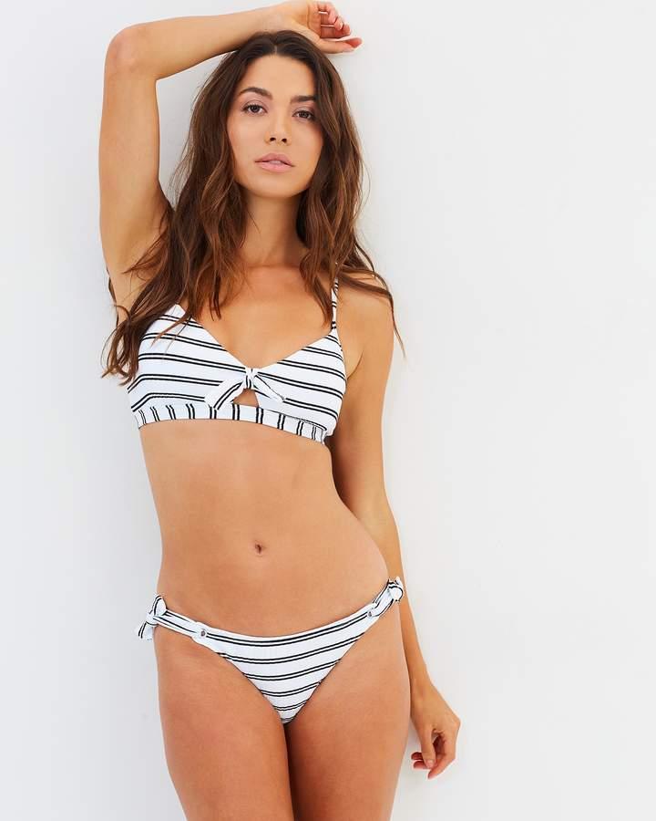 Seafolly Inka Stripe Tie Side Hipster