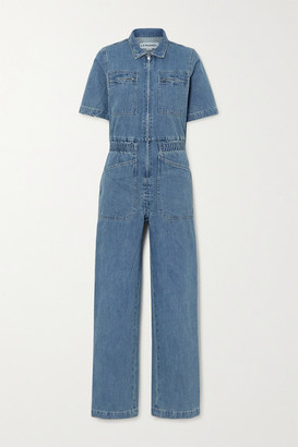 L.F. Markey Danny Denim Jumpsuit - Mid denim