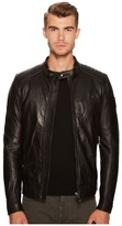 Belstaff V Racer New Tumbled Leather Jacket Men's Coat