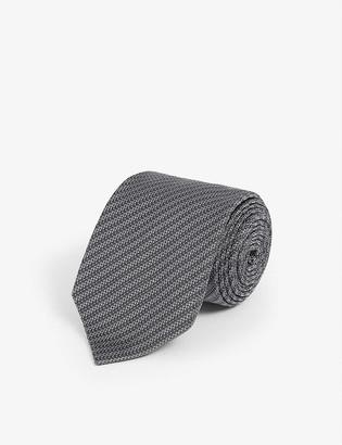Tom Ford Striped silk-blend tie