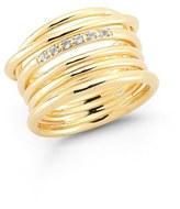Elizabeth and James Women's 'Roxy' Openwork Ring
