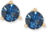 Kate Spade 14k Gold-Plated Crystal Stud Earrings