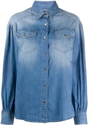Pinko Two Pocket Denim Shirt