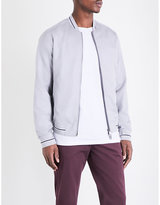 Armani Jeans Eagle Logo Cotton-blend Bomber Jacket