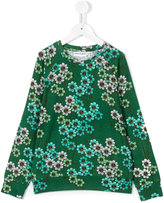 Mini Rodini daisy long-sleeved T-shirt - kids - Spandex/Elastane/Micromodal - 9 yrs