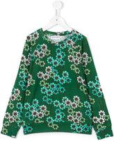 Mini Rodini daisy long-sleeved T-shirt