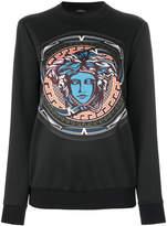 Versace Medusa head printed jumper