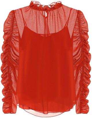 See by Chloe Crepe blouse