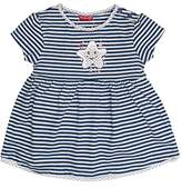 Salt&Pepper Salt and Pepper Baby Girls' B Summer Stripe Dress,12-18 Months