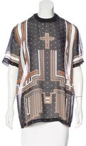 Givenchy Sheer Silk Top