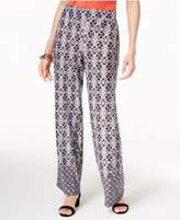 NY Collection Printed Soft Pants