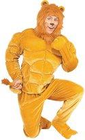 Forum Novelties Inc. Forum Novelties, Inc mens Plus Size Macho Lion Costume
