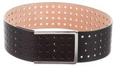 Sportmax Perforated Leather Belt