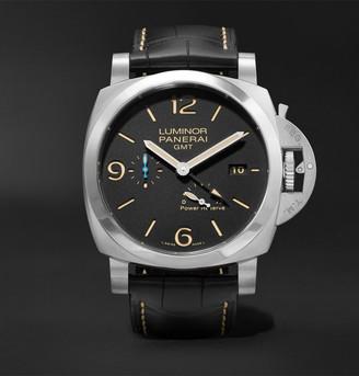 Panerai Luminor 1950 3 Days Acciaio Automatic 44mm Stainless Steel And Alligator Watch, Ref. No. Pam01321