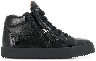 Giuseppe Zanotti Justy patent leather sneakers