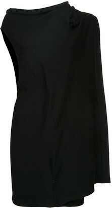Yohji Yamamoto Pre Owned asymmetric layered dress