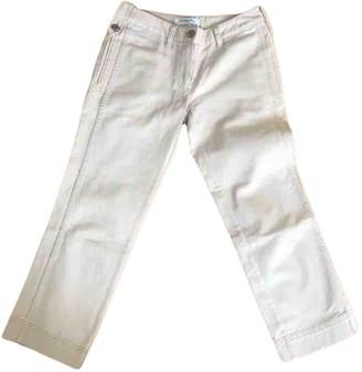 Christian Dior Ecru Denim - Jeans Jeans