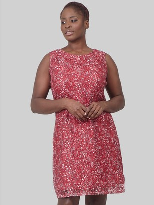 M&Co Izabel Curve ditsy floral lace dress