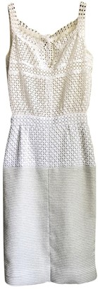 Chanel Ecru Lace Dress for Women