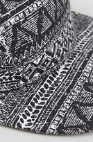 Topman Aztec Print Five Panel Cap