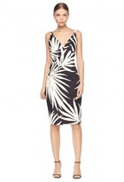 Milly Palm Print Liz Dress