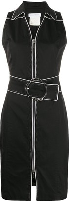 Paco Rabanne Pre-Owned 1990s belted dress
