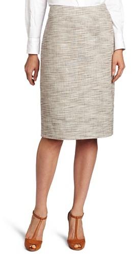 Pendleton Women's Petite Texture Weave Jenny Skirt