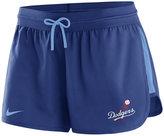 Nike Women's Los Angeles Dodgers Dry Shorts