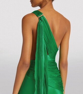 Maria Lucia Hohan One-Shoulder Irma Gown