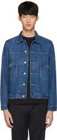Paul Smith Blue Denim Western Jacket