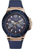 GUESS Mens Rigor Watch W0247G3