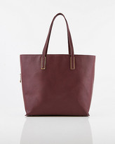 Le Château Pebbled Faux Leather Tote