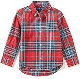 Ralph Lauren Little Boys 2T-7 Plaid Poplin Shirt