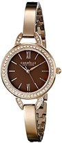 Bulova Caravelle New York Women's 44L134 Stainless Steel Crystal-Accented Watch