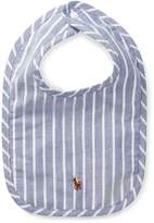 Ralph Lauren Striped Cotton Oxford Bib