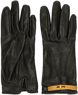 Hermes Pre-Owned Turn-Lock Gloves