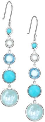 Ippolita Lollipop Lollitini Sterling Silver & Multi-Stone 5-Drop Earrings